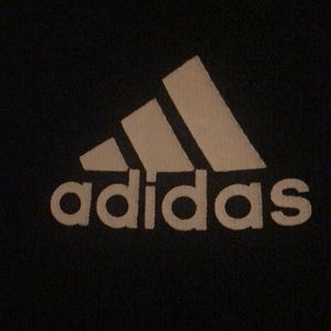 Adidas sweats, navy and in good condition